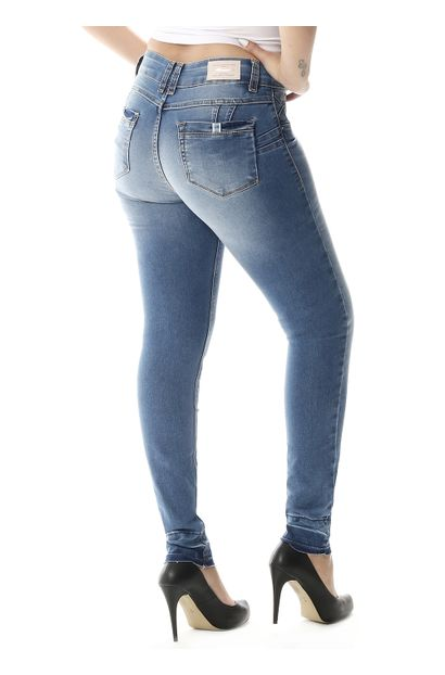 Calça Jeans Feminina Cigarrete Levanta Bumbum - 257805