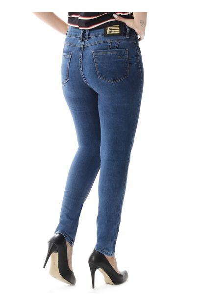 efa38ef80 Calça Jeans Feminina Cigarrete Levanta Bumbum - 257403