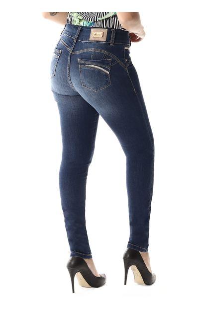 Calça Jeans Feminina Legging Modela Bumbum - 257609
