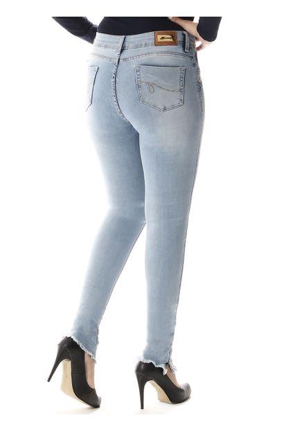 Calça Jeans Feminina Cigarrete Up - 257471