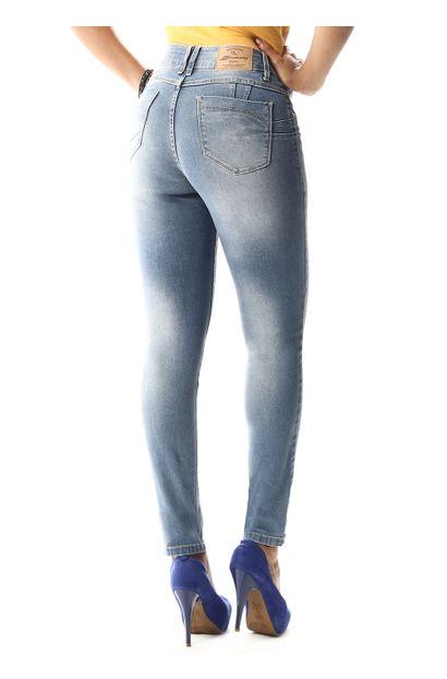 Calça Jeans Feminina Cigarrete Levanta Bumbum - 257866