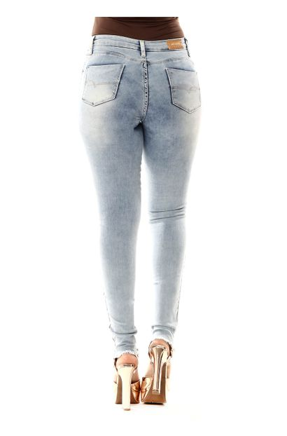 Calça Jeans Feminina Cigarrete Push Up - 255549