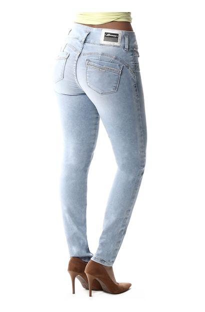 Calça Jeans Feminina Legging Modela Bumbum - 257612