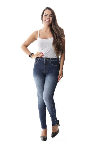 Calça Jeans Feminina Legging Super Lipo - 257801