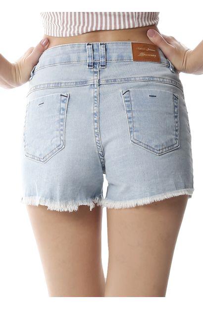 Shorts Jeans Feminina Boyfriend - 258538