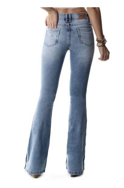 Calça Jeans Feminina Flare - 258089