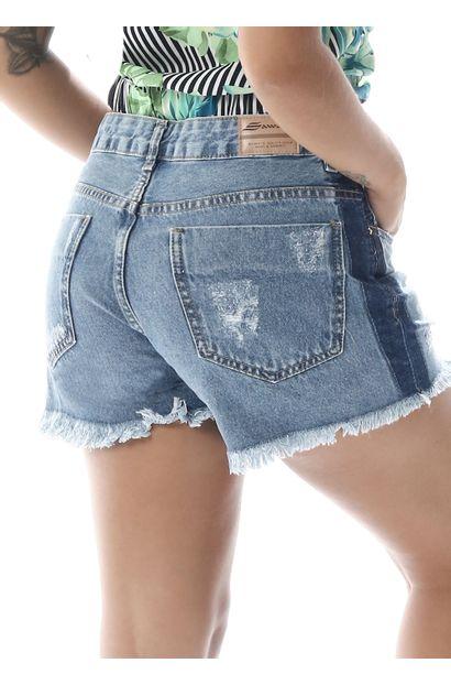 Shorts Jeans Feminino Boyfriend - 258438