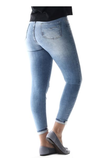 Calça Jeans Feminina Cropped Up - 256943
