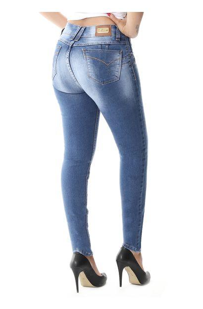 Calça Jeans Feminina Skinny Intermediaria - 257898