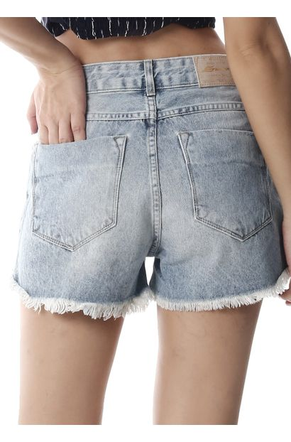 Shorts Jeans Feminino Boyfriend - 258449