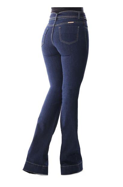 Calça Jeans Feminina Flare - 258609