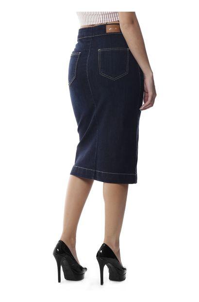 Saia Jeans Feminina - 258551