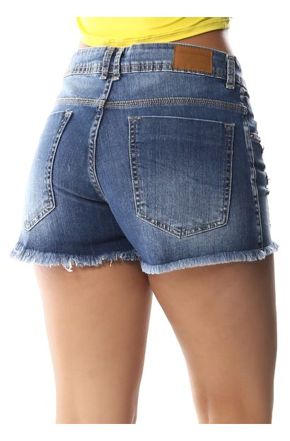 Shorts Jeans Feminino Boyfriend - 258745