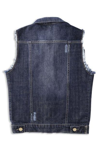 Colete Jeans Feminino Juvenil - 252645
