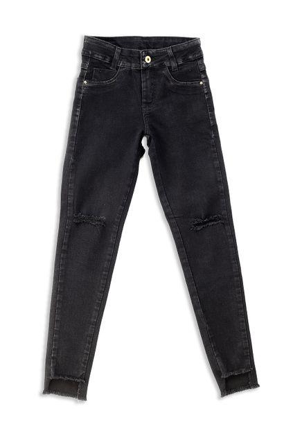 Calça Jeans Juvenil Cigarrete - 252802