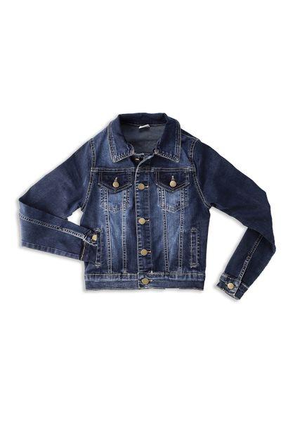 Jaqueta Jeans Feminina Juvenil - 252666