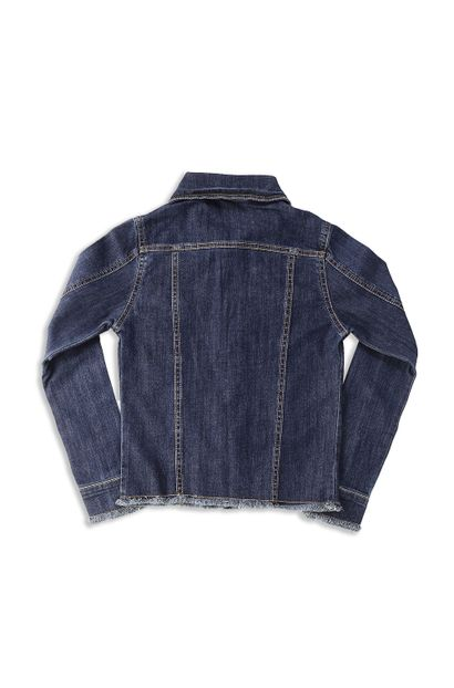 Jaqueta Jeans Feminina Juvenil - 252633