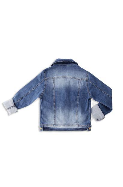 Jaqueta Jeans Feminina Juvenil - 252614