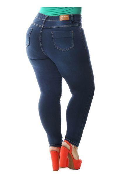 31c4441580 Calça Jeans Feminina Cigarrete Plus Size - 258794