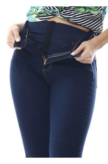 Calça Jeans Feminina Flare Super Lipo - 258775
