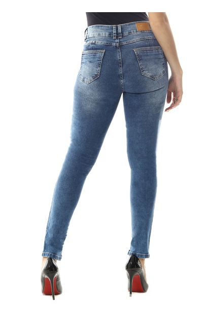 Calça Jeans Feminina Cigarrete Levanta bumbum - 258542