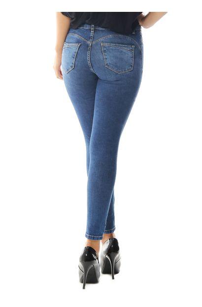 Calça Jeans Feminina Cigarrete Heart - 258487