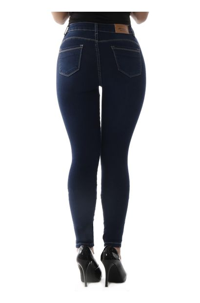 bfedb0f8f Calça Jeans Feminina Skinny Compressora - 258942