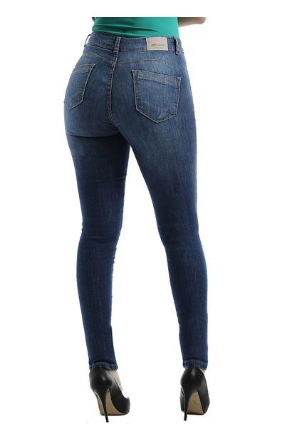 Calça Jeans Feminina Skinny Compressora - 259170