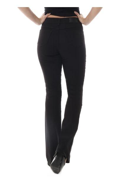 Calça Jeans Feminina Flare Preta - 259203