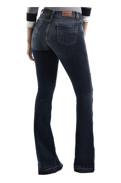 Calça Jeans Feminina Flare Destroyed - 258949