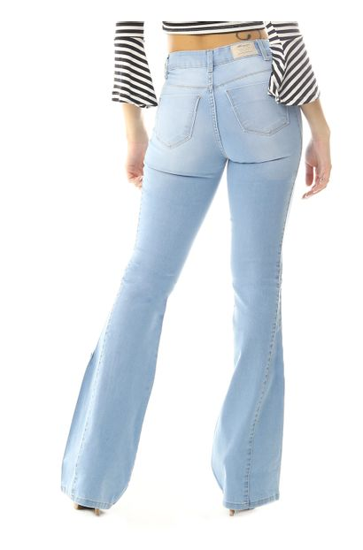 Calça Jeans Feminina Flare - 258835
