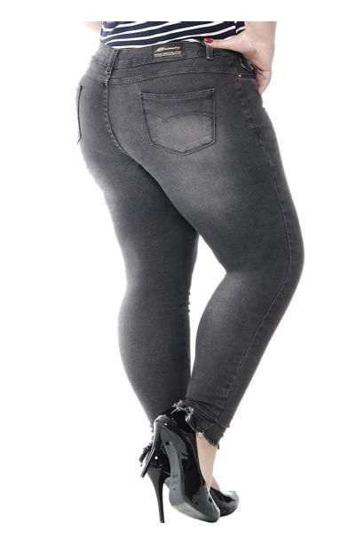 Calça Jeans Feminina Cigarrete Plus Size - 247871