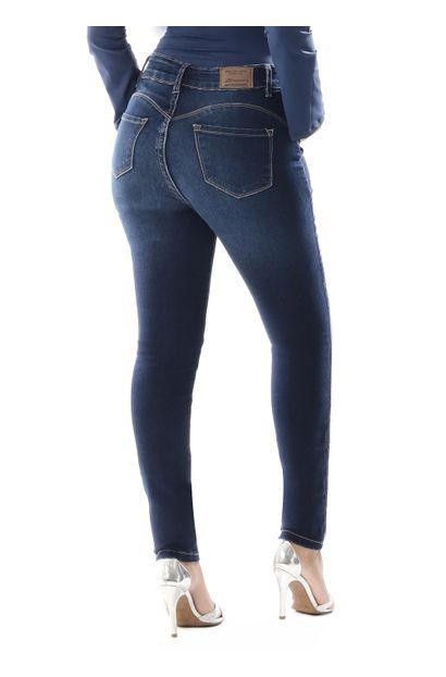 Calça Jeans Feminina Cigarrete Super Compressora - 259423