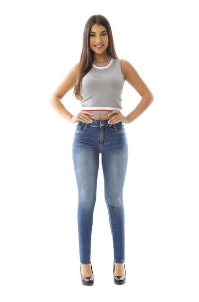 Calça Jeans Feminina Clochard Hot Pants - 259133