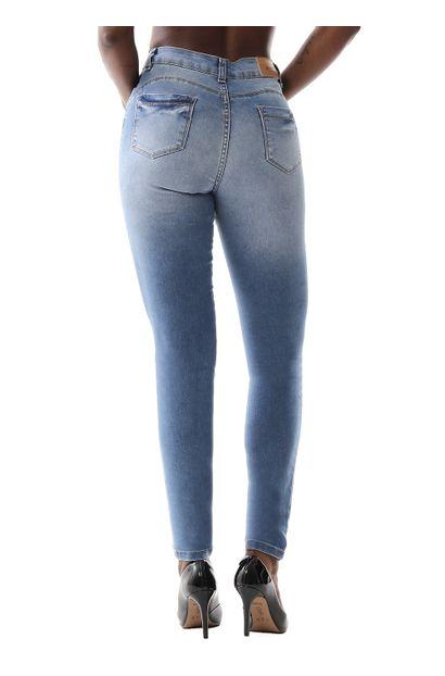 Calça Jeans Feminina Skinny Compressora - 259490