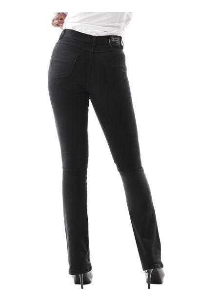 Calça Jeans Feminina Flare Preta - 259904