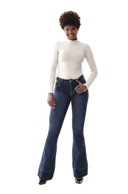 Calça Jeans Feminina Flare - 259459