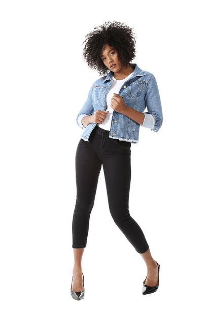 Calça Jeans Feminina Cropped Push Up - 259167