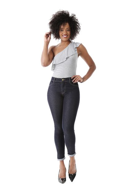 Calça Jeans Feminina Legging Hot Pants - 259700