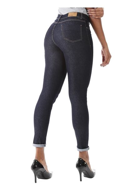 590140175 Calça Jeans Feminina Legging Hot Pants - 259700