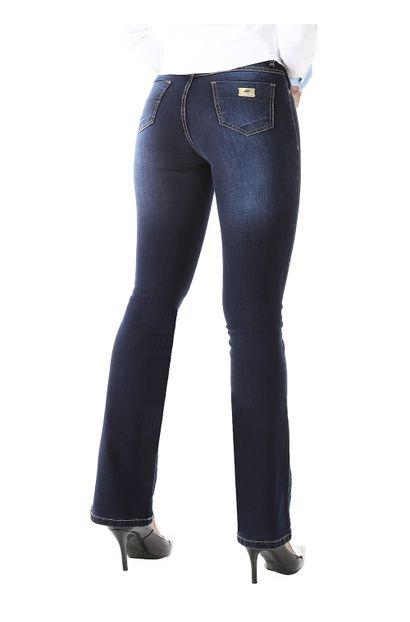 176311d60 Calça Jeans Feminina Flare Boot Cut - 259465