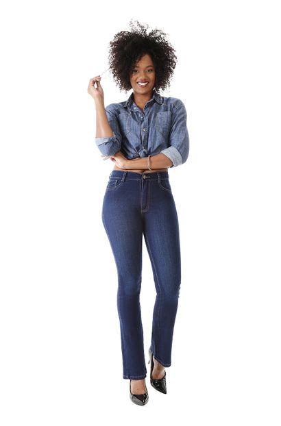Calça Jeans Feminina Flare Boot Cut - 259584