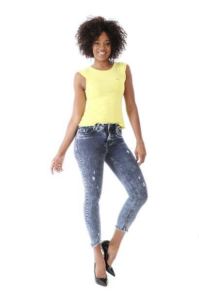 Calça Jeans Feminina Cigarrete - 259071