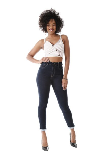 Calça Jeans Feminina Legging Super Lipo - 259498