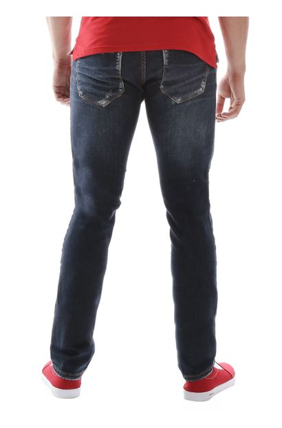 Calça Jeans Masculina Skinny - 259778