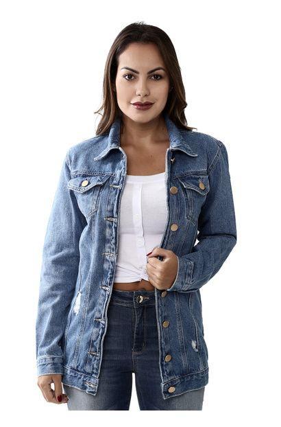 Jaqueta Jeans Feminina - 259506