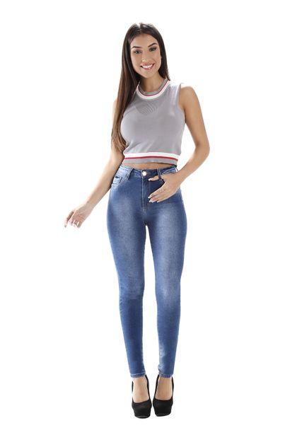 Calça Jeans Feminina Legging Super Lipo - 258901