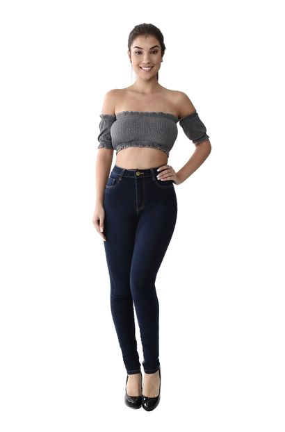 Calça Jeans Feminina Legging Super Lipo - 259805