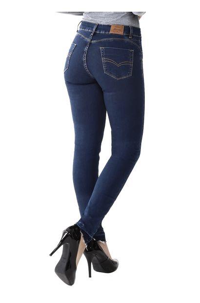 Calça Jeans Feminina Cigarrete Push Up - 259822