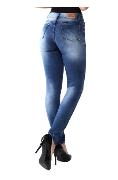 Calça Jeans Feminina Legging Hot Pants - 259277